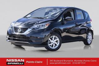 Used 2018 Nissan Versa Note SV CAMÉRA DE RECUL / BLUETOOTH / SIÈGES CHAUFFAGE for sale in Montréal, QC