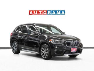 Used 2017 BMW X1 xDrive28i Nav Leather Backup Cam Panoramic Sunroof for sale in Toronto, ON