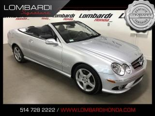 Used 2007 Mercedes-Benz CLK CONVERTIBLE|NAVI|CUIR| for sale in Montréal, QC