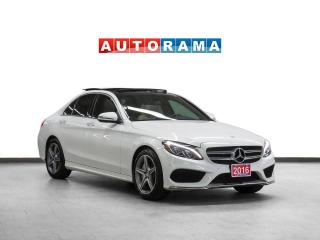 Used 2016 Mercedes-Benz C 300 4Matic AMG PKG Nav Leather PanoRoof Bcam for sale in Toronto, ON