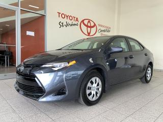 Used 2017 Toyota Corolla * CE * A/C * BLUETOOTH * PEA 2021/100 000 KMS * for sale in Mirabel, QC