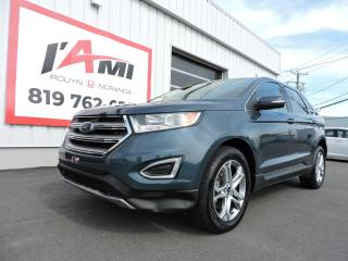 Used 2016 Ford Edge 4DR TITANIUM AWD for sale in Rouyn-Noranda, QC