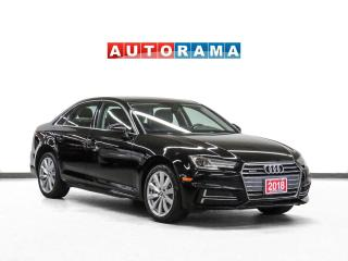 Used 2018 Audi A4 Quattro Komfort Package Leather Sunroof Backup Cam for sale in Toronto, ON