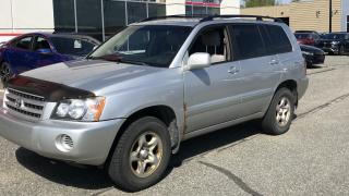 Used 2003 Toyota Highlander 4dr V6 4WD for sale in Rouyn-Noranda, QC