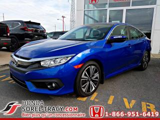 Used 2016 Honda Civic EX-T 4 portes CVT for sale in Sorel-Tracy, QC
