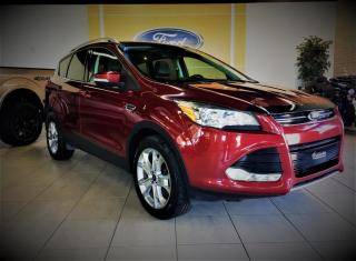 Used 2014 Ford Escape TITANIUM - AWD - CUIR/TOIT/GPS - BAS KM for sale in Drummondville, QC