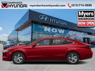 New 2020 Hyundai Sonata Sport  - Sunroof -  Dinamica Seats - $198 B/W for sale in Nepean, ON