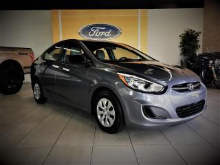 Used 2016 Hyundai Accent GL - SIEGES CHAUFF - AIR CLIM - BAS PRIX for sale in Drummondville, QC