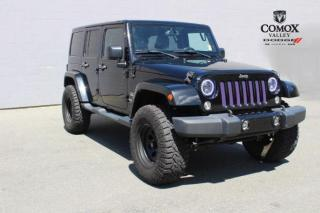 Used 2015 Jeep Wrangler 4WD 4dr Sahara for sale in Courtenay, BC
