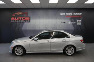 Used 2011 Mercedes-Benz C-Class C250 4MATIC CUIR TOIT MAGS BLUETOOTH 61 941 KM !! for sale in Lévis, QC