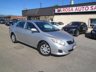 Used 2010 Toyota Corolla LOW KM Auto CE PW PL PM CRUISE  AUX SAFETY NO ACCI for sale in Oakville, ON