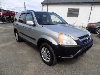 Used 2002 Honda CR-V ***LX,AUTOMATIQUE,AWD,4X4*** for sale in Longueuil, QC