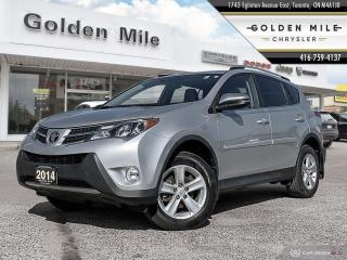 Used 2014 Toyota RAV4 XLE CLEAN CARFAX, SUNROOF, AWD for sale in North York, ON