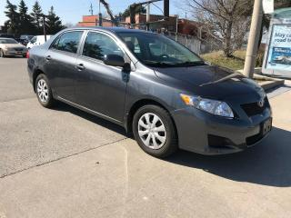 Used 2009 Toyota Corolla NO ACCIDENT,AUTO,SAFETY+3 YEARS WARRANTY INCLUDED for sale in Toronto, ON