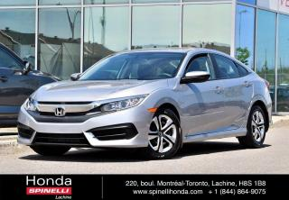 Used 2016 Honda Civic LX AUTO TRES BAS KM AUTO CRUISE BLUETOOTH BAS KM for sale in Lachine, QC