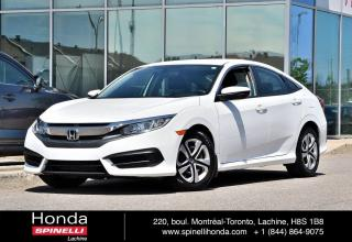 Used 2016 Honda Civic LX DEAL PENDING AUTO BAS KM SEDAN AUTO BAS KM CRUISE BLUETOOTH for sale in Lachine, QC