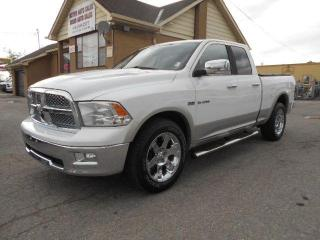 Used 2010 Dodge Ram 1500 Laramie 4X4 Quad Cab Leather 20