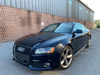 Used 2011 Audi A5 2.0T - QUATTRO - S LINE - 6-SPEED MANUAL for sale in Toronto, ON