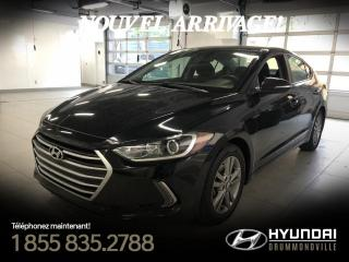 Used 2017 Hyundai Elantra GL + GARANTIE + MAGS + CAMERA + A/C +  W for sale in Drummondville, QC