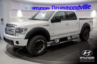 Used 2013 Ford F-150 PLATINUM 3.5L + GARANTIE + NAVI + + WOW! for sale in Drummondville, QC