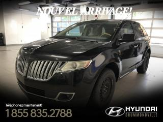 Used 2011 Lincoln MKX GARANTIE + CUIR BRUN + NAVI + TOIT + WOW for sale in Drummondville, QC