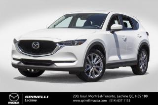 Used 2019 Mazda CX-5 GT TECH AWD GPS CUIR CAR PLAY ANDROIT AUTO Mazda CX-5 GT 2019 for sale in Lachine, QC