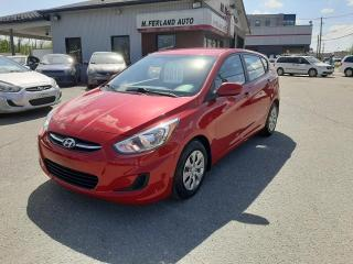 Used 2016 Hyundai Accent Voiture à hayon, 5 portes, boîte automat for sale in Sherbrooke, QC