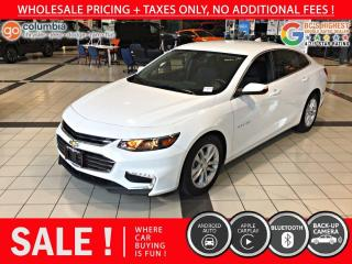 Used 2018 Chevrolet Malibu LT - Accident Free / No Dealer Fees for sale in Richmond, BC