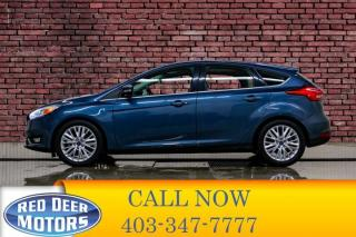 Used 2018 Ford Focus Titanium Hatchback Leather Roof BCam for sale in Red Deer, AB