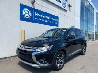 Used 2017 Mitsubishi Outlander GT AWD - LEATHER / SUNROOF / LOADED for sale in Edmonton, AB