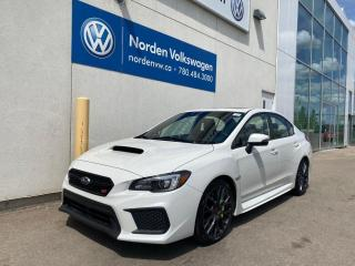 Used 2019 Subaru WRX STI SPORT TECH 6SPD M/T for sale in Edmonton, AB