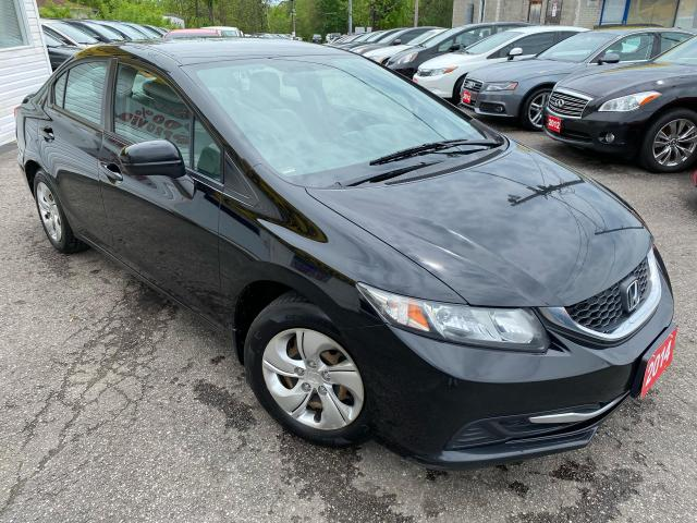 2014 Honda Civic LX/ 5 SPEED/ BLUETOOTH/ PWR GROUP/ AUX & MORE!
