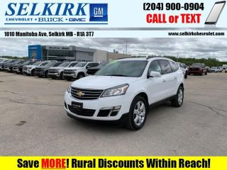 Used 2016 Chevrolet Traverse 1LT  - Heated Seats for sale in Selkirk, MB