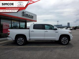 New 2020 Toyota Tundra Platinum  - Navigation -  Sunroof - $395 B/W for sale in Simcoe, ON
