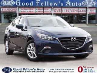 Used 2016 Mazda MAZDA3 SKYACTIV, 4CYL 2.0L, HEATED SEATS, REARVIEW CAMERA for sale in Toronto, ON
