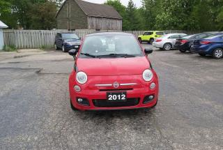 Used 2012 Fiat 500 Sport for sale in Lucan, ON