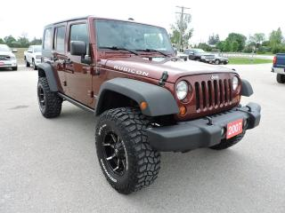 Used 2007 Jeep Wrangler Rubicon No rust 6 speed Only 168000 km for sale in Gorrie, ON