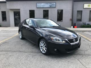 Used 2011 Lexus IS 350 3.5L AWD,NAV,REAR VIEW CAMERA,PUSH BUTTON START! for sale in Burlington, ON