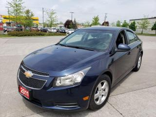 Used 2011 Chevrolet Cruze Auto, A/C, 4 Door, 3/Y Warranty available. for sale in Toronto, ON