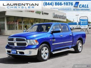 Used 2015 RAM 1500 Big Horn!!  BACKUP CAMERA!!  4WD!!  CREW CAB!! for sale in Sudbury, ON