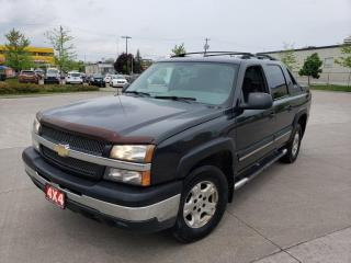 Used 2004 Chevrolet Avalanche 4X4, Automatic, 4 Door, 3/Y Warranty available, for sale in Toronto, ON
