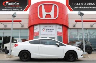 Used 2013 Honda Civic Cpe LX-AS/IS for sale in Sudbury, ON