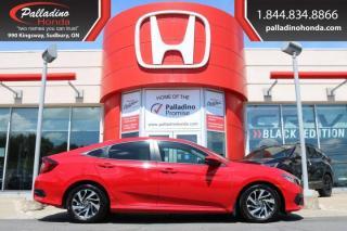 Used 2018 Honda Civic Sedan EX- BACKUP CAMERA, HONDA SENSING, SMARTPHONE INTEGRATION for sale in Sudbury, ON