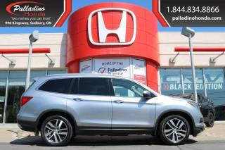 Used 2016 Honda Pilot Touring- REAR ENTERTAINMENT SYSTEM THIRD ROW SEATS, ALL WHEEL DRIVE for sale in Sudbury, ON