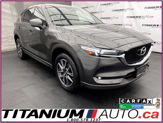 2018 Mazda CX-5 GT+AWD+GPS+Leather+Blind Spot+Power Lift Gate+Sun
