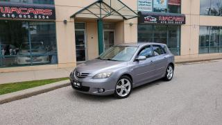 Used 2006 Mazda MAZDA3 GS**LOW KM**1 OWNER**NO ACCIDENT** for sale in North York, ON