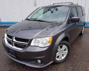 Used 2018 Dodge Grand Caravan CREW *LEATHER* for sale in Kitchener, ON