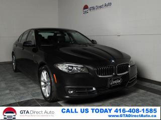 Used 2016 BMW 5 Series 528i xDrive Nav Sun Cam AWD Lux Prem PkgCertified for sale in Toronto, ON