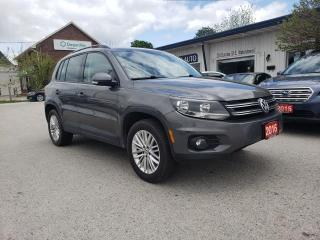 Used 2016 Volkswagen Tiguan COMFORTLINE for sale in Waterdown, ON