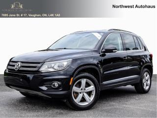 Used 2016 Volkswagen Tiguan Comfortline 4 Mortion TSI PANORAMIC SUNROOF 7 TO C for sale in Concord, ON